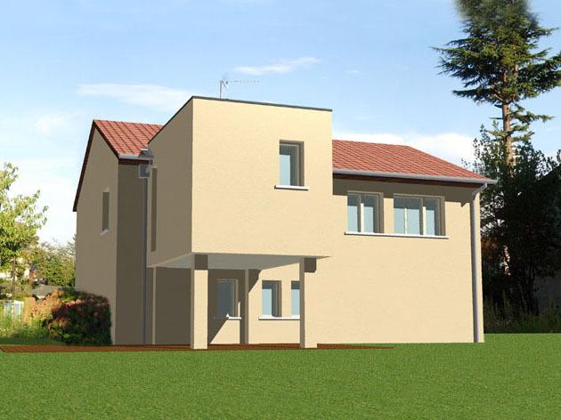 Extension maison corbas architecte dplg lyon for Extension maison 85