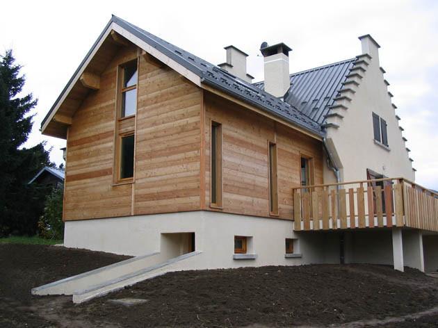 Architecte lyon extension maison vercors for Architecte maison individuelle lyon